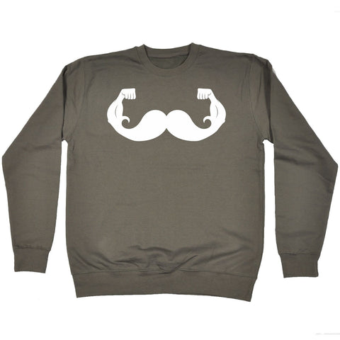 123t  Moustache Game Strong - SWEATSHIRT, 123t