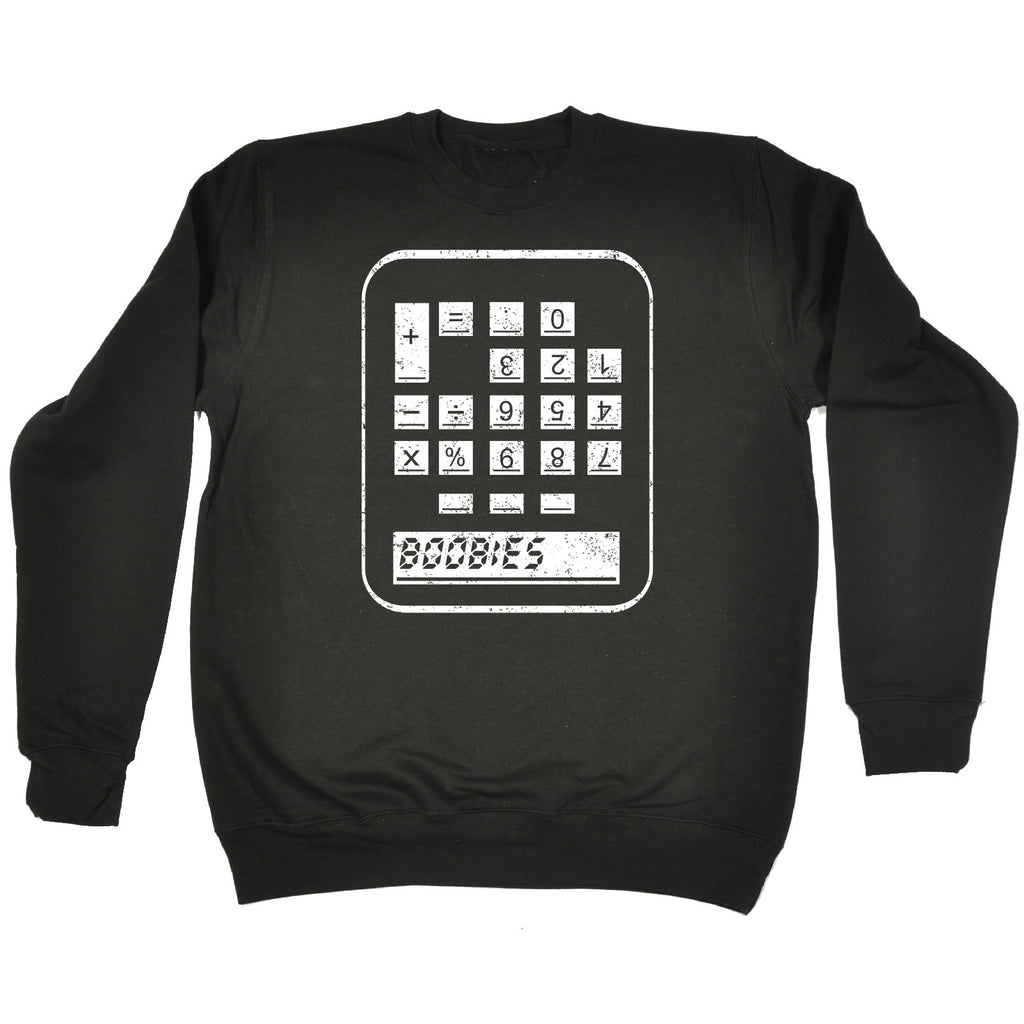 123t Boobies Calculator Funny Sweatshirt