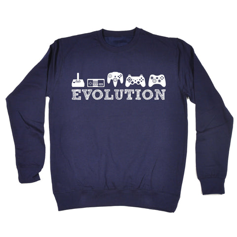 123t Evolution Gaming Funny Sweatshirt