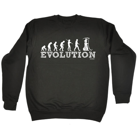 123t Evolution Reaper Funny Sweatshirt