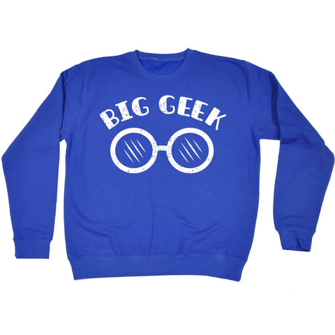 123t Big Geek Binoculars Design Funny Sweatshirt