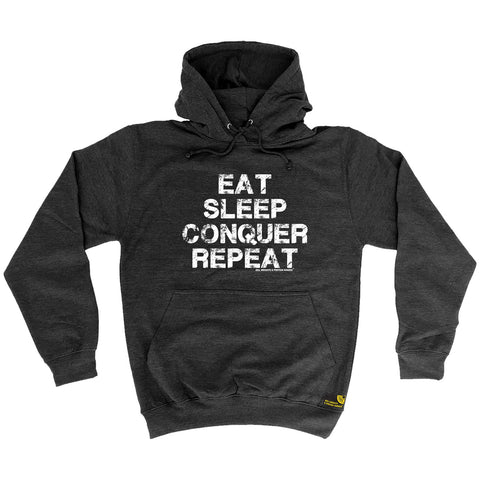 Sex Weights and Protein Shakes - Eat Sleep Conqure Repat Sex Weights and Protein Shakes - Gym HOODIE