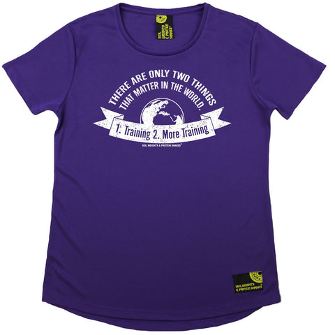 Women's SWPS - Only Thing That Matters Training - Dry Fit Breathable Sports R NECK T-SHIRT