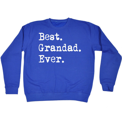 123t Best Grandad Ever Funny Sweatshirt - 123t clothing gifts presents