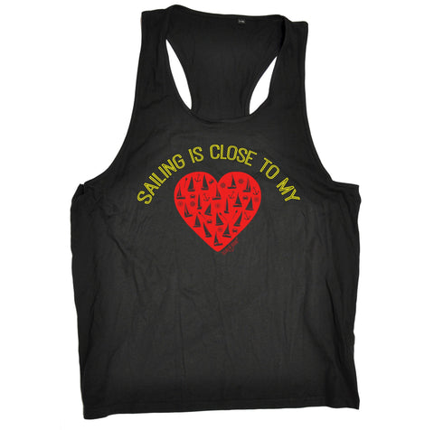 Ocean Bound Sailing Is Close To My Heart Men's Tank Top