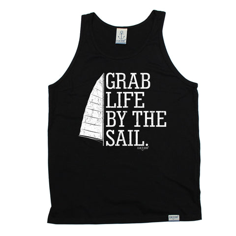 Ocean Bound Grab Life By The Sail Sailing Vest Top