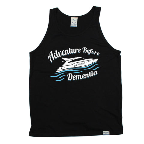 Ocean Bound Adventure Before Dementia Speedboat Sailing Vest Top