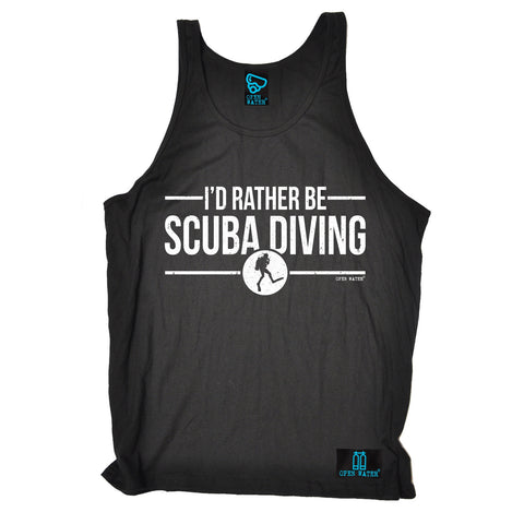 Open Water I'd Rather be Scuba Diving Vest Top
