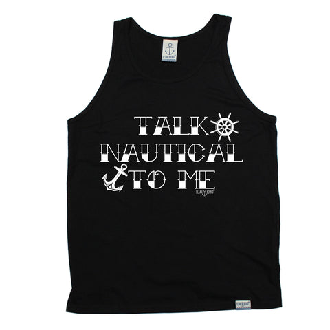 Ocean Bound Talk Nautical To Me Sailing Vest Top
