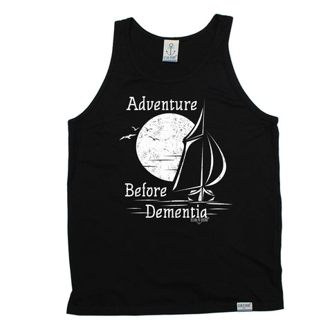 Ocean Bound Adventure Before Dementia Sailing Vest Top