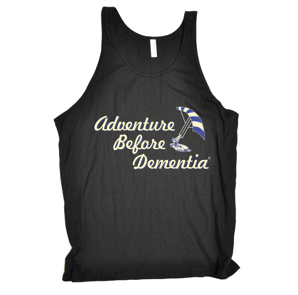 123t Adventure Before Dementia Kitesurf Graphic Design Funny Vest Top - 123t clothing gifts presents