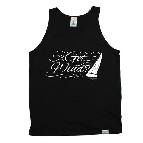 Ocean Bound Got Wind ? Sailing Design Vest Top