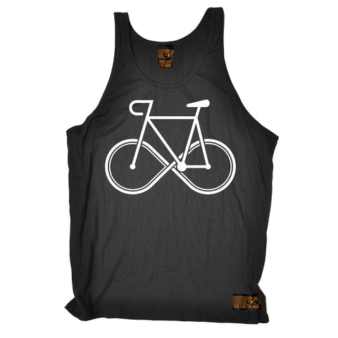 Ride Like The Wind Infinity Bike Design Cycling Vest Top