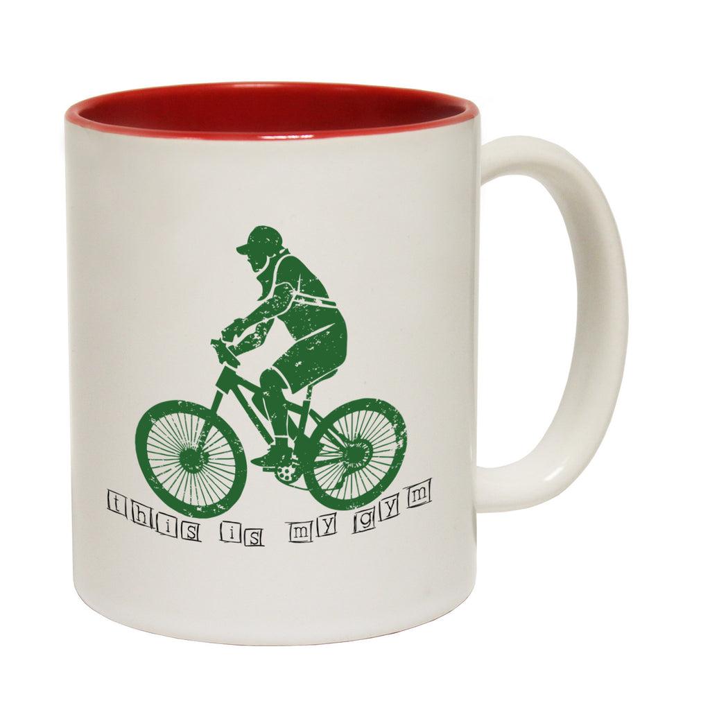 Ride Like The Wind This Is My Gym Funny Cycling Mug