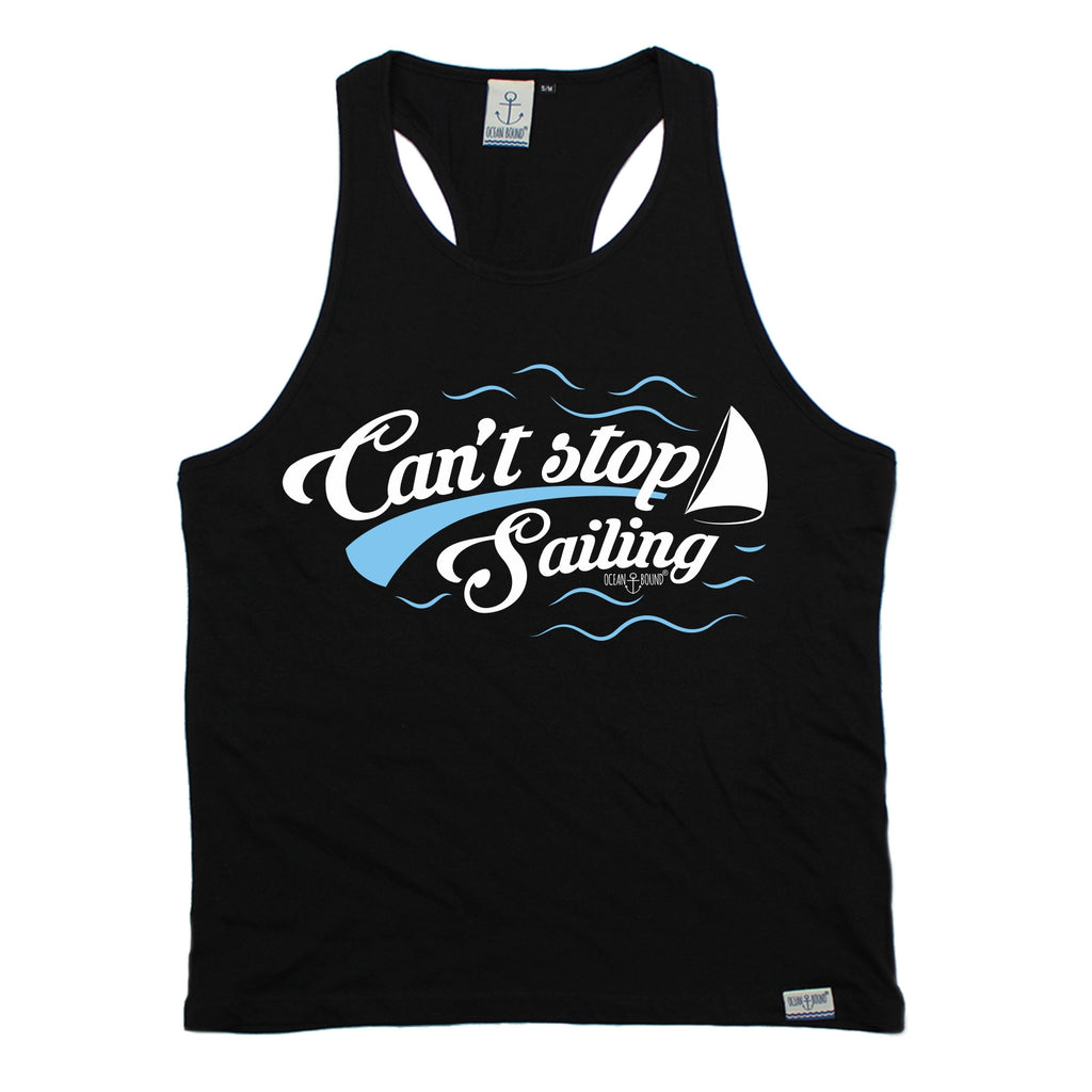Ocean Bound Can't Stop Sailing Men's Tank Top