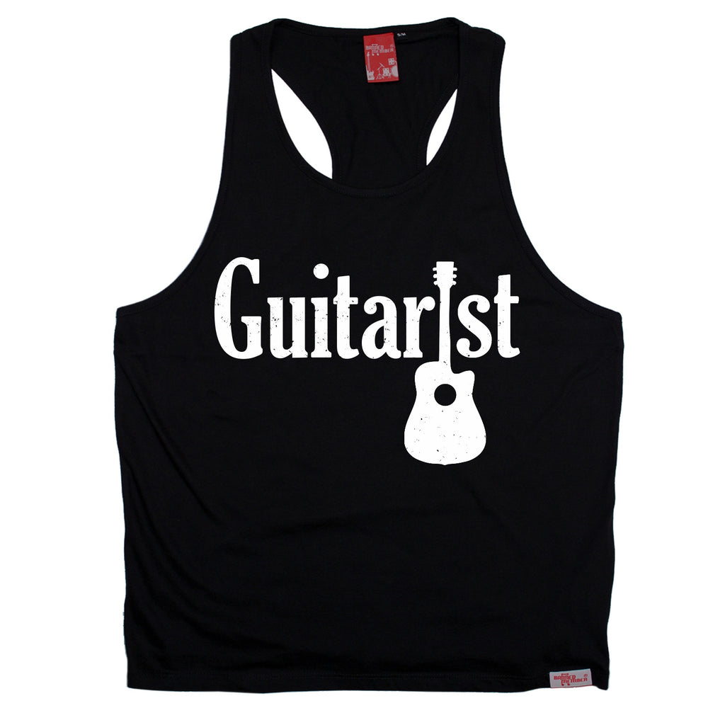 Banned Member Guitarist Guitar Men's Tank Top
