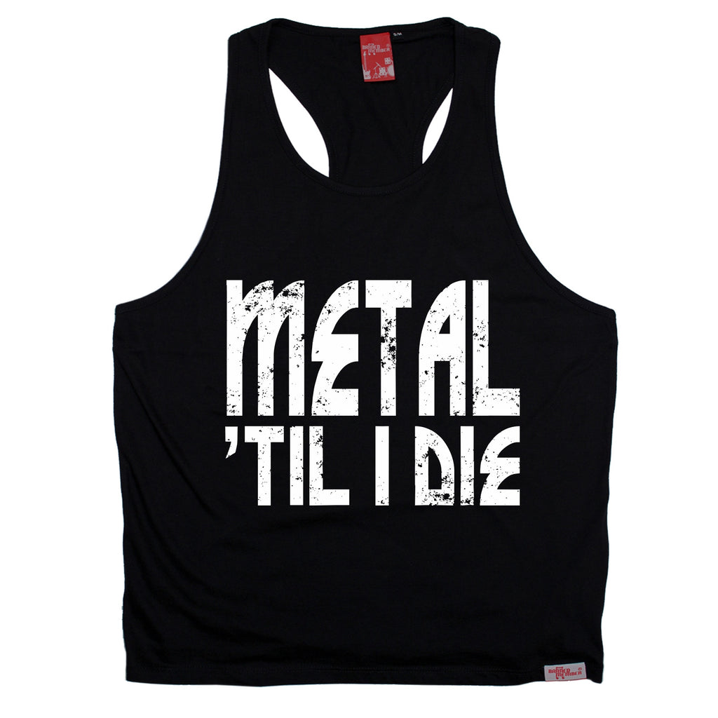 Banned Member Metal 'Til I Die Music Men's Tank Top