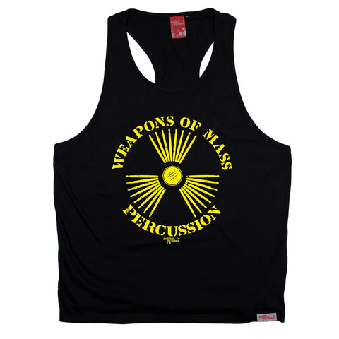 Banned Member Weapons Of Mass Percussion Band Men's Tank Top