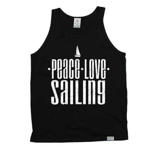 Ocean Bound Peace Love Sailing Vest Top