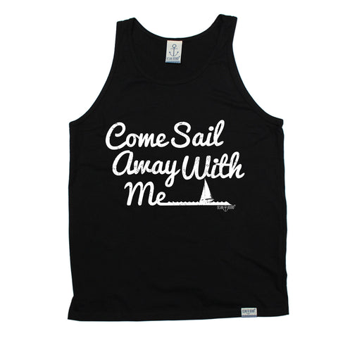 Ocean Bound Come Sail Away With Me Sailing Vest Top