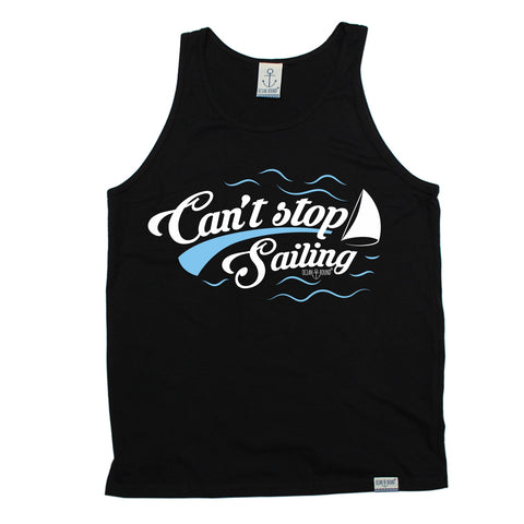 Ocean Bound Can't Stop Sailing Vest Top