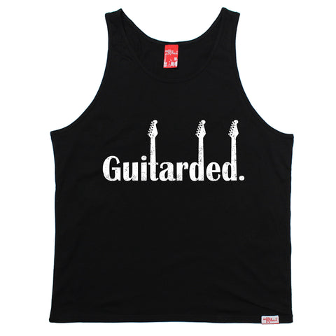 Banned Member Guitarded Guitar Vest Top