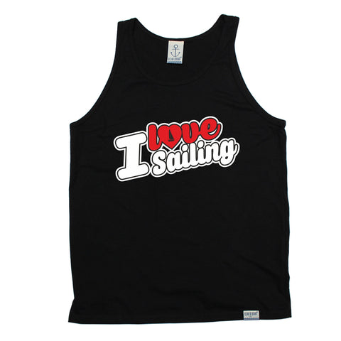 Ocean Bound I Love Sailing (Colour Design) Vest Top