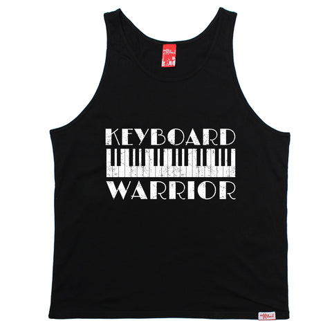 Banned Member Keyboard Warrior Piano Vest Top