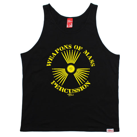 Banned Member Weapons Of Mass Percussion Band Vest Top