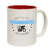 Ride Like The Wind When Life Get's Complicated Funny Cycling Mug