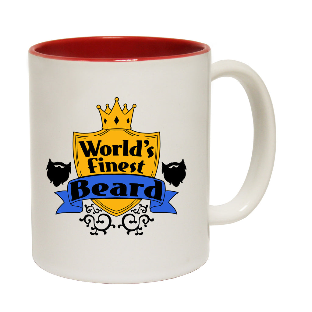 123t World's Finest Beard Funny Mug