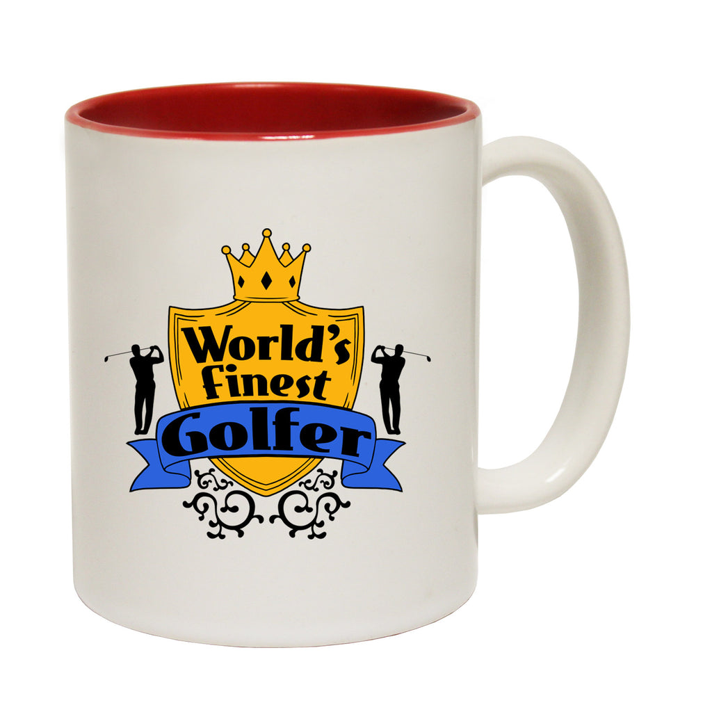 123t World's Finest Golfer Funny Mug