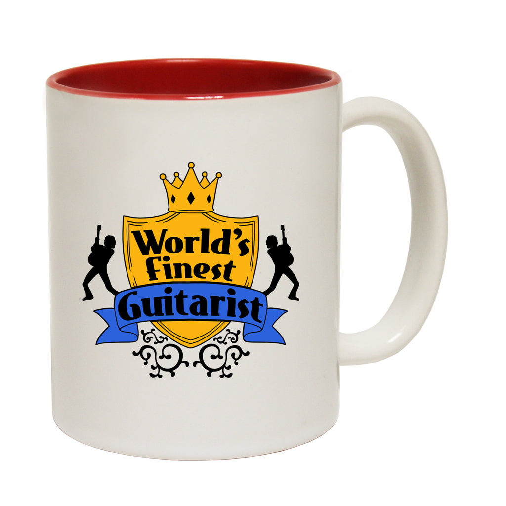 123t World's Finest Guitarist Funny Mug