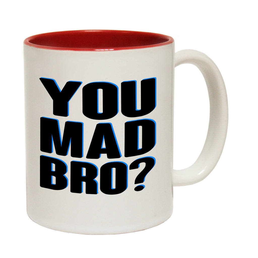 123t You Mad Bro Funny Mug