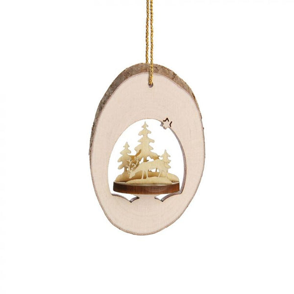 3 D Locket 1 Ornament
