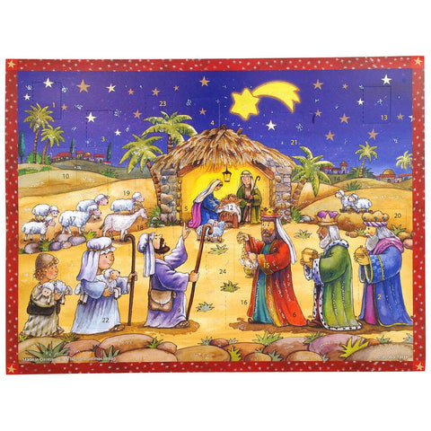 Nativity Night Scene Advent Calendar