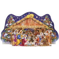 Nativity 3 Dimensional Stand Up Advent Calendar
