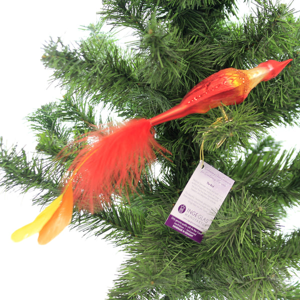 Phoenix Glass  Ornament