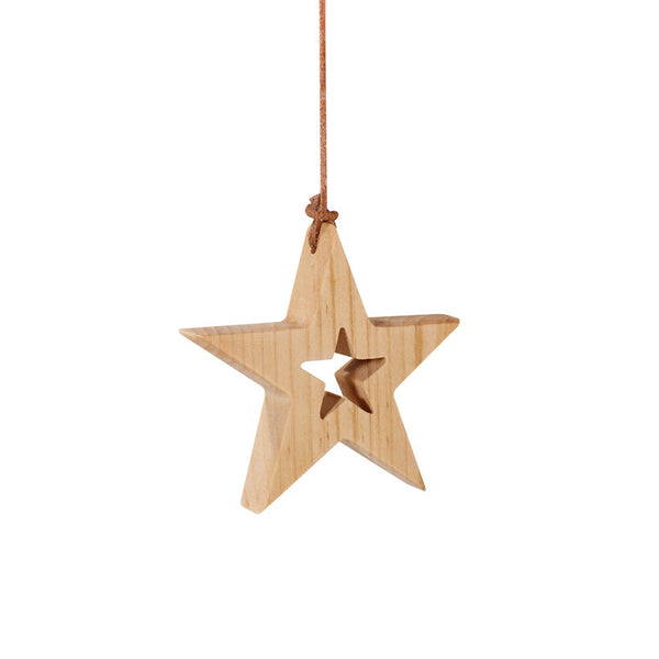 Hanging Star with Cut