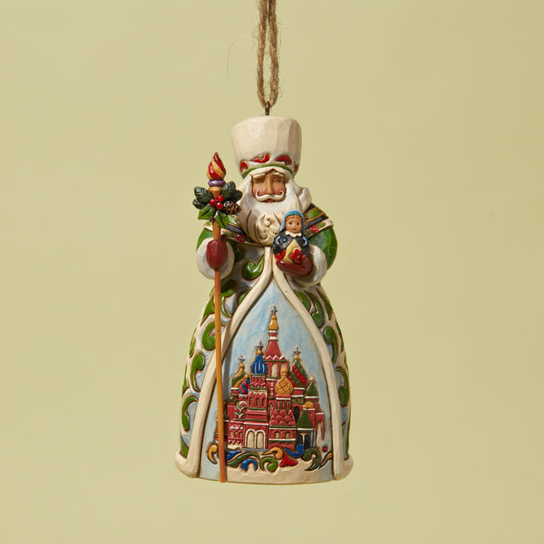 Grandfather Frost Russian Santa Hanging Ornament