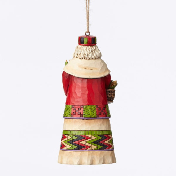 African Santa Hanging Ornament