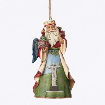 Brazilian Santa  Hanging Ornament