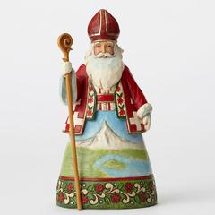 Swiss Santa Figure