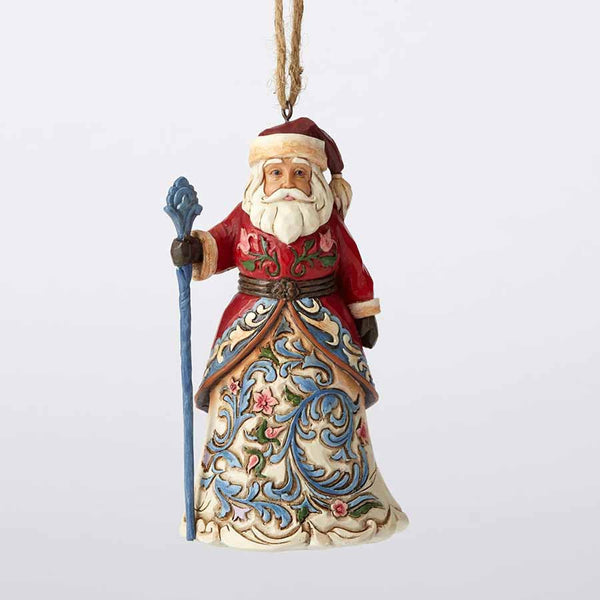 Norwegian Santa  Hanging Ornament
