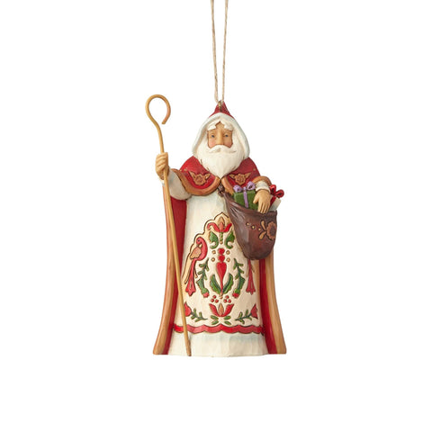 Austria Rejoices-Austrian Santa Hanging Ornament