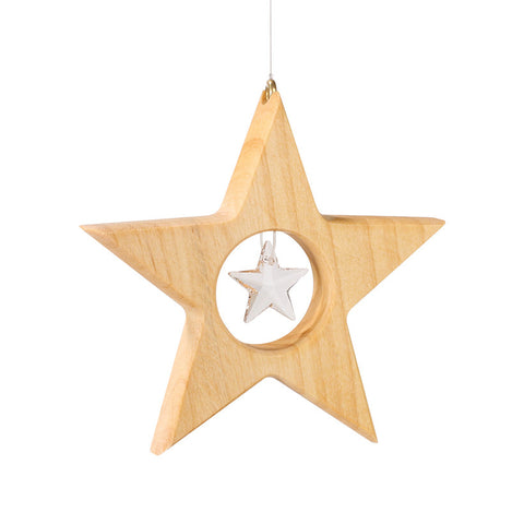 Star with Crystal from Swarovski