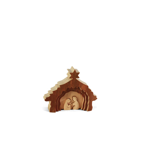 Nativity Scene Bark Puzzle III