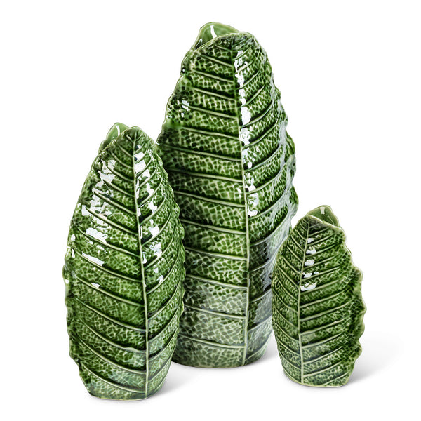Fern  and Leaf Vase
