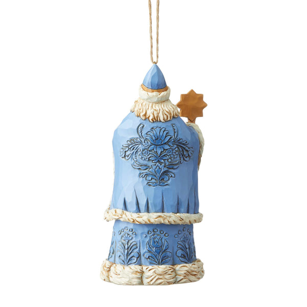 Ukrainian Santa Hanging Ornament