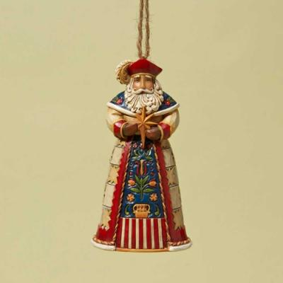Polish  Santa Hanging Ornament